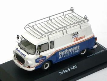 Barkas  B 1000 Rothmans Rally team Blue White  Blauw Wit  1/43