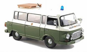 Barkas B 1000 Volks Polizei Police Polite  1/43
