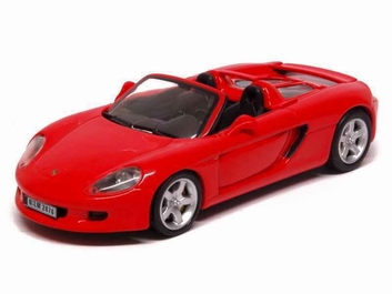 Porsche Carrera GT 2001 Red  Rood  1/43