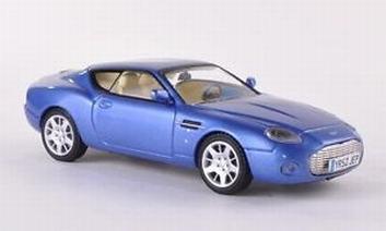 Aston Martin DB7 Zagato 2003 Blue Blauw  1/43
