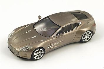 Aston Martin one-77  Brown metallic Bruin  1/43