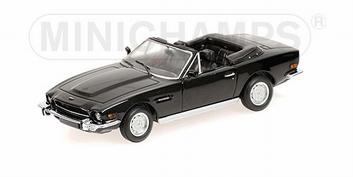 Aston Martin V8 Volante Black Zwart 1987  1/43