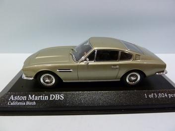 Aston Martin DBS California Birch1969 Silver green metallic  1/43