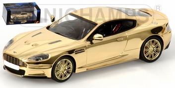 Aston Martin DBS Gold Plated James Bond  1/43