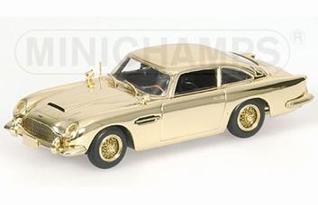 Aston Martin DB5 Gold Plated James Bond  1/43