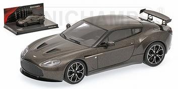 Aston Martin V12 Zagato 2012 Scintilla Silver Zilver  1/43