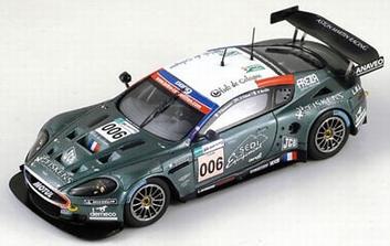 Aston Mrtin DBR9 AMR # 006  Le Mans 2007  1/43