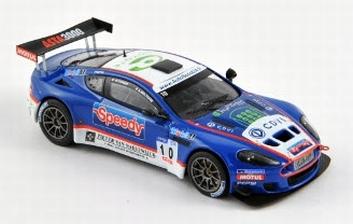 Aston Martin DBRS9 GT3 #10 LMP Motorsport 2010 Speedy  1/43