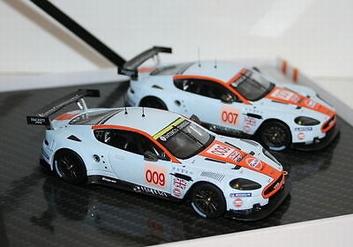 Aston Martin DBR9 Set # 007 & # 009 Gulf  1/43