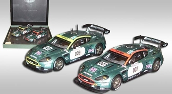 Aston Martin 2006 Le Mans 007 & 009 set  1/43