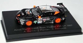 Aston Martin DBR9 Team Modena #59 Le Mans 2007  1/87