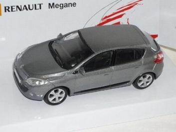 Renault Megane Grey metallic Grijs  1/43