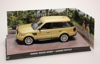 Range Rover Sport Casino Royale James Bond 007  1/43
