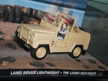 Land Rover Leightweight The Living Daylights James Bond 007  1/43
