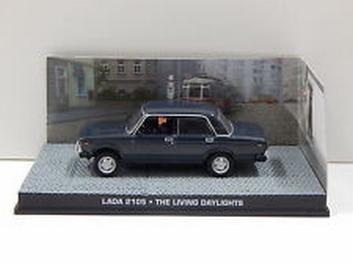 Lada 2105 The living daylights James Bond 007  1/43