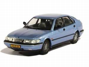 Saab 900 V6 1994 Licht Blau Light Blue   1/43