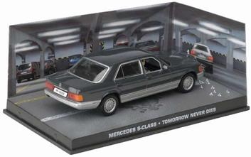 Mercedes Benz s-class Tomorrow never dies James Bond 007  1/43