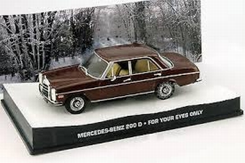 Mercedes Benz 200 D For your eyes only James Bond 007  1/43