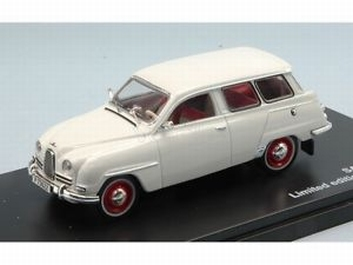 Saab 95 Wit White 1961   1/43