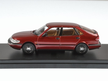 Saab 900 V6 1994 Bordeaux  1/43