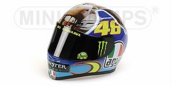 AGV Helmet Valentino Rossi Helm MotoGP Misano 2009  1/8
