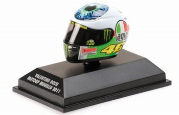 AGV Helmet Valentino Rossi Helm Moto GP Mugello 2011  1/8