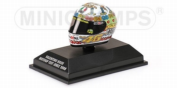AGV Helmet Valentino Rossi Helm MotoGP test Jerez 2008  1/8