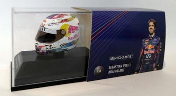 Arai Helmet S Vettel Helm Singapore 2011 F1 Formule 1  1/8