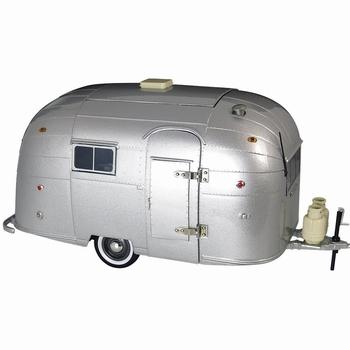 Airstream camper caravan trailer stainles steel  1/18