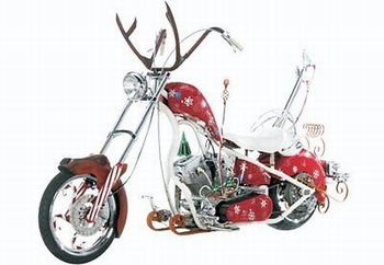 Chritsmas bike Orange County Choppers