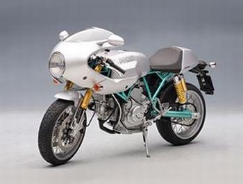 Ducati 1000 Paul Smart  zilver silver  1/12
