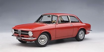 Alfa Romeo GT 1300  Junior rood red  1/18