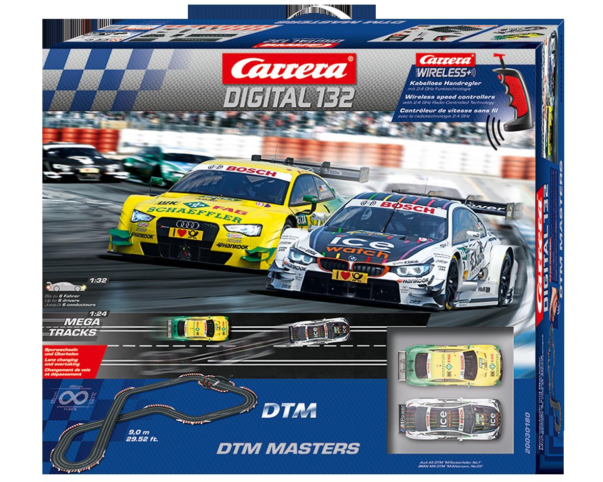Carrera DTM Masters digitaal met draadloze regelaars  1/32