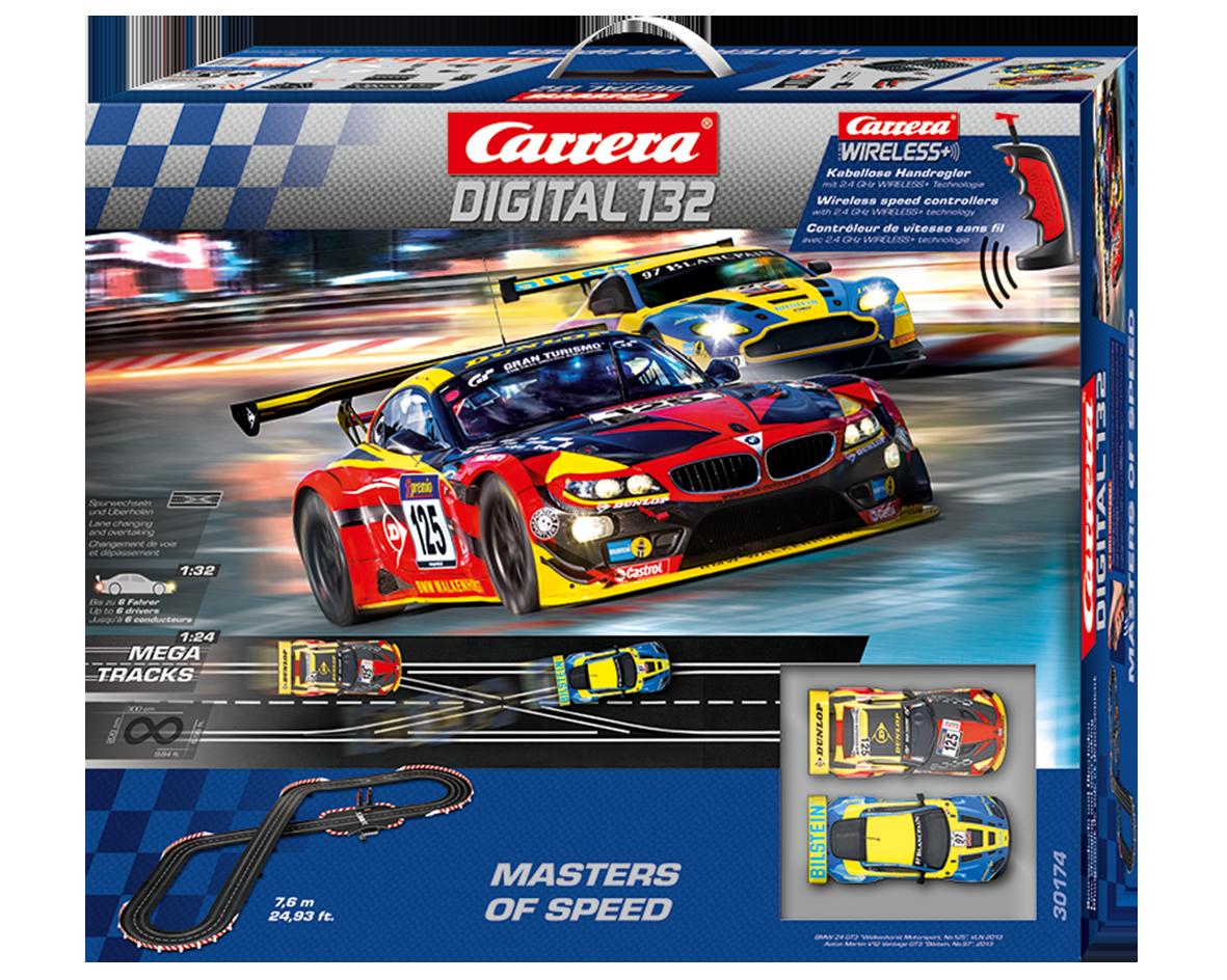 Carrera Masters of speed digitaal met draadloze regelaars  1/32