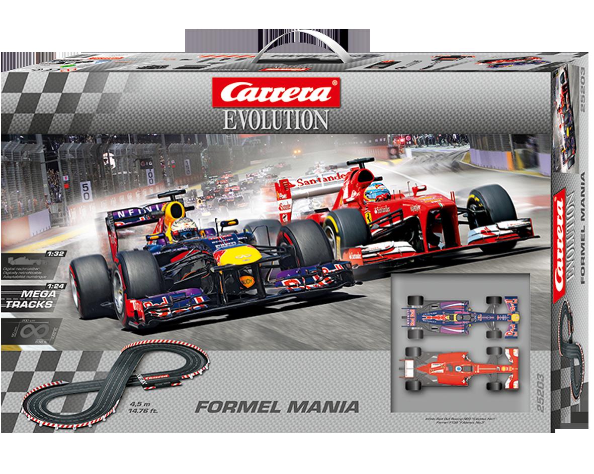 Carrera Fomel Mania F1 Formule 1  1/32