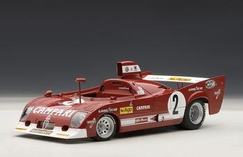Alfa Romeo 33 TT 12 1975 1000 km Spa Francorchamps # 2  1/18