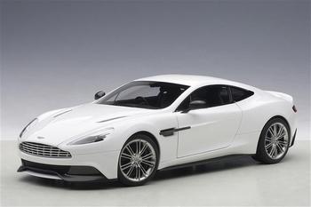 Aston Martin Vanquish  Wit glossy  White  1/18