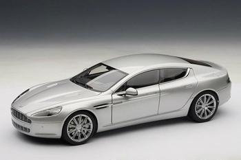 Aston Martin Rapide Zilver  Silver  1/18