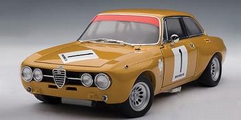 Alfa Romeo Giulia GT Am Jamara 1970 Hezemans # 1  1/18