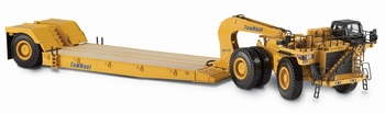 Cat 784C tractor with townhaul classic lowboy trailer  1/50