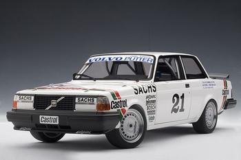 Volvo 240 Turbo DTM Winner Wunstorf 1985 P Stureson # 21  1/18
