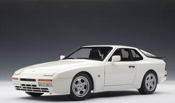 Porsche 944 Turbo Wit White  1/18