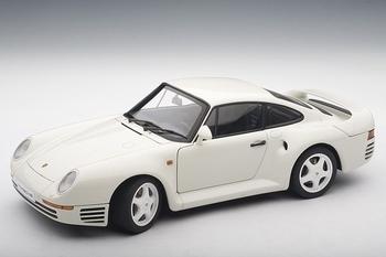 Porsche 959 Wit White  1/18
