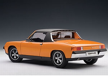 Porsche 914/6 Oranje  blut Orange  1/18