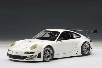 Porsche 911 997 GT3 RSR 2010 Wit White  1/18