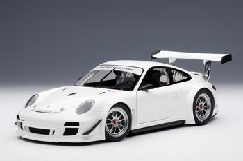 Porsche 911 997 GT3 R 2010 Wit  White  1/18