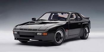 Porsche 924 Carrera GT 1980  Zwart  Black  1/18