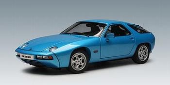 Porsche 928 Blauw Minerva metallic Blue   1/18