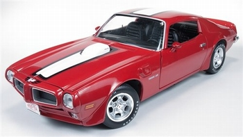 Pontiac Firebird Trans Am 1972 Rood Red  1/18