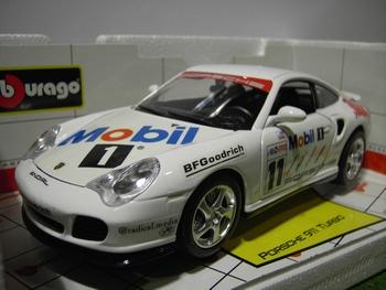 Porsche 911 Turbo # 11 Mobil  1/18